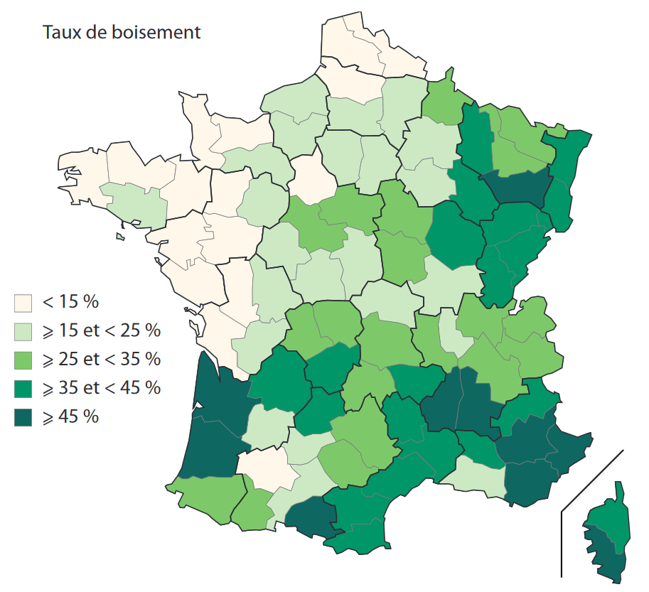 Forests in France - GEVES