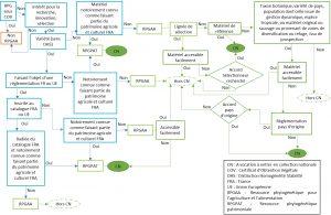 Critères d'identification des RPGAA et RPGPAT et de décision pour l'entrée en collection nationale d'une ressource d'origine étrangère