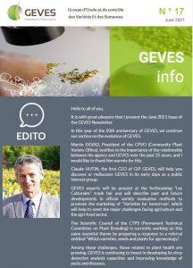 GEVES Newsletter N°17 EN